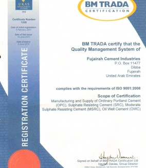 Quality-Certificate